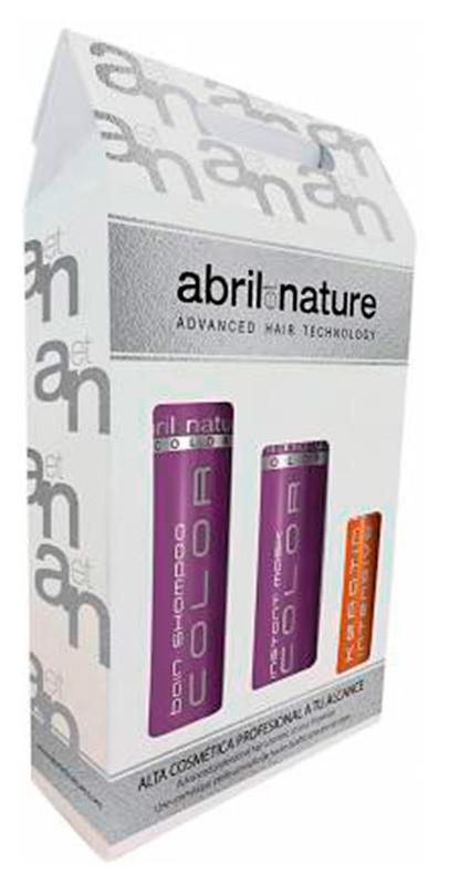 Набір Abril Et Nature Color (Шампунь 250ml + Маска 200ml + Сироватка 100ml)