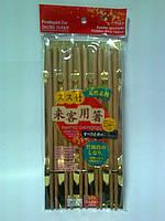DAISO Бамбуковые декоративные палочки для еды (5 пар)