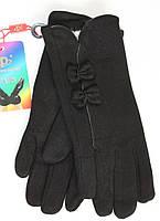 Молодежные перчатки украшены бантиками, фото 1