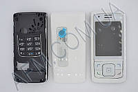 Корпус ААА Nokia 6288 (белый)+русская клавиатура