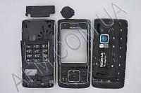 Корпус ААА Nokia 6288 (чёрный)+русская клавиатура