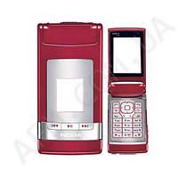Корпус ААА Nokia N76 (красный)+русская клавиатура