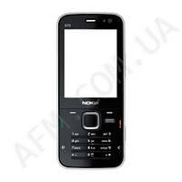 Корпус ААА Nokia N78 (чёрный)+латинская клавиатура