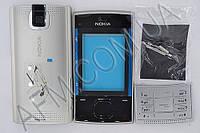 Корпус ААА Nokia X3/  X3- 00 (синий)+латинская клавиатура