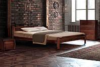 Кровать Ольга 1,6 каштан (Микс-Мебель ТМ)
