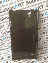 Чехол для 2D сублимации пластиковый на Sony Xperia C4 черный, фото 3