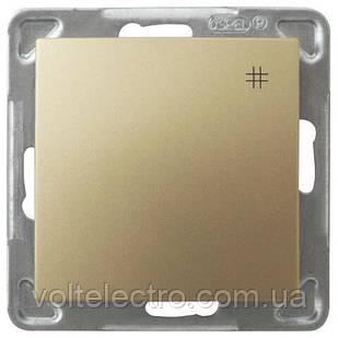 Перехресний вимикач OSPEL IMPRESJA GOLD 250V/16A OSPEL IMPRESJA ŁP-4Y/m/28 золото