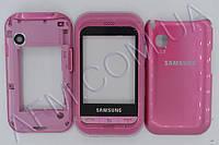 Корпус ААА Samsung C3300 (розовый) сенсорная модель
