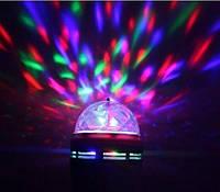 Проектор вращающийся для вечеринок LED Party Light