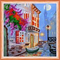 """Набор для вышивки бисером Мини """"Венецианский пейзаж"""" (15 х 15 см) Абрис Арт AM-120"""