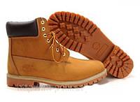 Ботинки Timberland желтого цвета реплика, фото 1