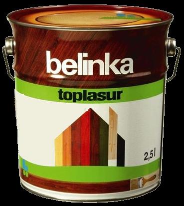 Belinka Toplasur 5 л, Зеленая 19