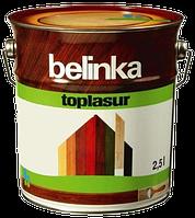 Belinka Toplasur 5 л, Санториново-синяя 72