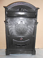 Почтовый ящик VITA цвет чёрный (трезубец)