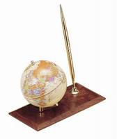 Глобус на деревянной подставке  0910 WDM Ореховое дерево