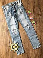 Джинсы для мальчика рваные 9-10 лет.Турция!!! Детские джинсы