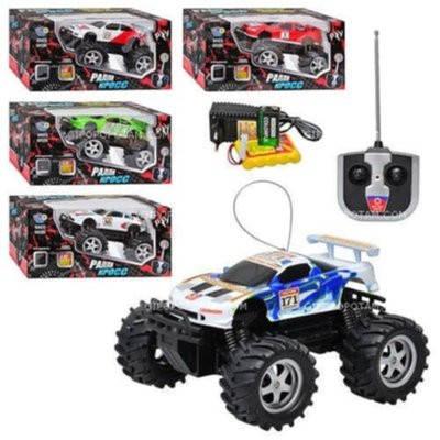 Джип с большими колесами  Limo Toy 6568-323/9005 на р/у, фото 2
