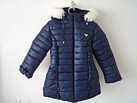 """Детское пальто """"Бантик 2"""" на овчине"""
