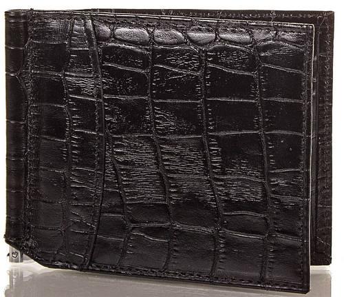 Стильный мужской кожаный зажим для купюр CANPELLINI КАНПЕЛЛИНИ) SHI070-2-ZM