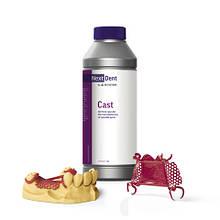 Фотополимерная смола для 3D печати NextDent Cast выгорающая без остатка, 1кг, Nextdent (НекстДент, Голландия)