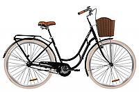 """Велосипед 28"""" Dorozhnik RETRO 2020 (чорний)"""