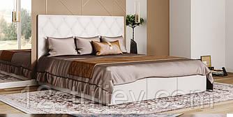 Мягкая кровать Каролина 2 с подъемным механизмом Свит Меблив 160*200