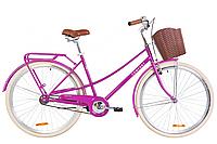 """Велосипед 28"""" Dorozhnik COMFORT FEMALE 2020 (фіолетовий)"""