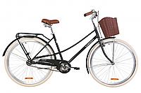 "Велосипед 28"" Dorozhnik COMFORT FEMALE 2020 (чорний (м))"
