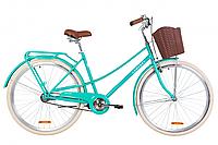 """Велосипед 28"""" Dorozhnik COMFORT FEMALE 2020 (бірюзовий)"""