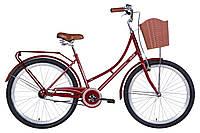 """Велосипед 26"""" Dorozhnik JADE 2021 (бордовий)"""