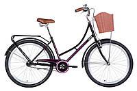 "Велосипед 26"" Dorozhnik JADE 2021 (чорно-рожевий)"
