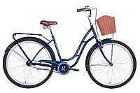 """Велосипед 28"""" Dorozhnik OBSIDIAN 2021 (темно-синій)"""