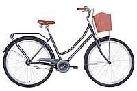"""Велосипед 28"""" Dorozhnik TOPAZ 2021 (чорний (м))"""