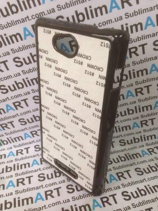 Чехол для 2D сублимации пластиковый на Sony Xperia C черный, фото 2