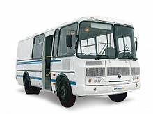 Автобуси ПАЗ, ЛАЗ