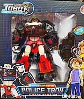 """Робот - трансформер Тобот """"POLICE TRON"""", полицейский Дельтатрон 521"""