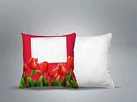 Декоративная подушка с принтом 35х35см