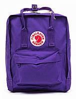 Рюкзаки kanken fjallraven фиолетовый 16л classic сумка портфель качественный оригинал 2021 канкен с лисой