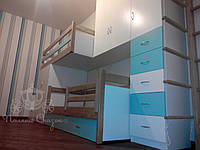 Комната для Мишеньки из массива ясеня и МДФ . , фото 1