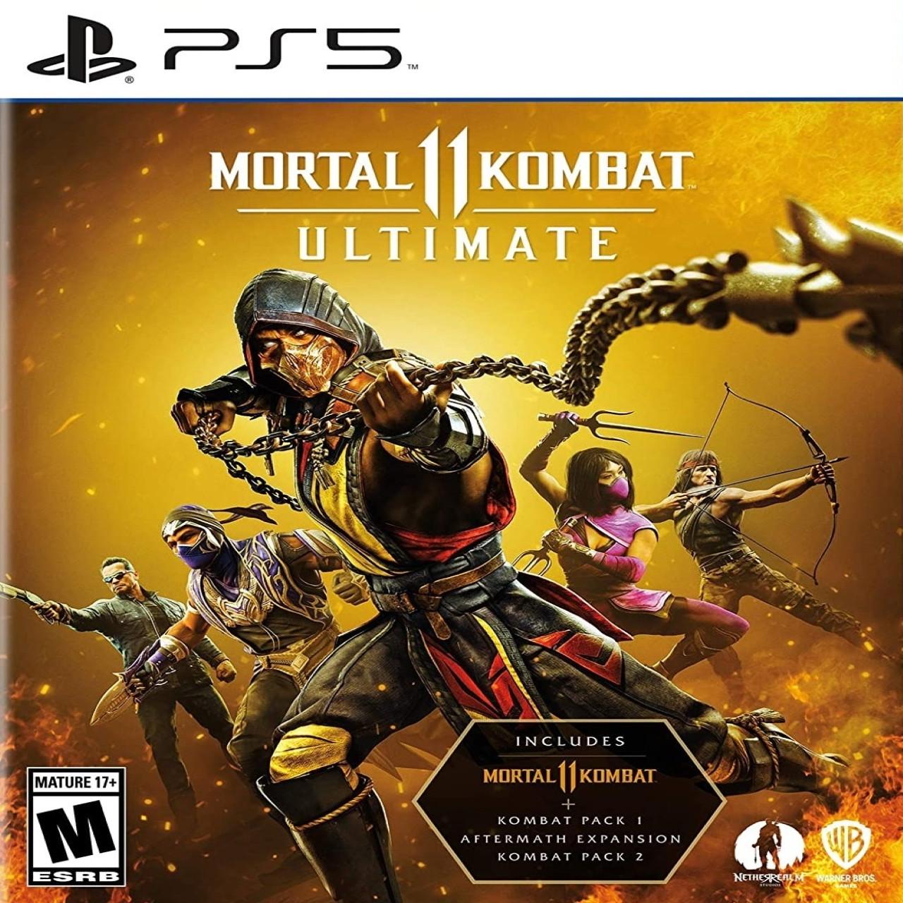 Mortal Kombat 11 Ultimate (російські субтитри) PS5