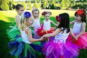 Виробництво і продаж модних дитячих спідниць із фатіну в розмірах від 1 до 8 років більше 40 кольорів