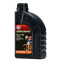 Мотоциклетное масло FUCHS Silkolene PRO 4 SX 15w-50 (1л.) для 4-тактных двигателей