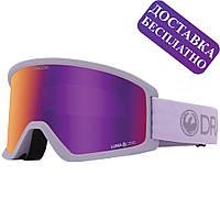 Стильные горнолыжные очки для сноуборда Dragon DX3 OTG ultraviolet лыжная маска на очки Lumalens Purple ion