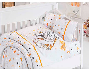 First Choice Baby Collection Stork Orange