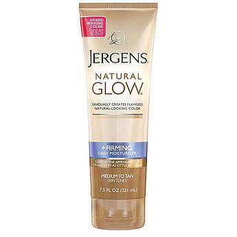 Лосьон для тела с автозагаром Jergens Natural Glow +FIRMING Daily Moisturizer Medium to Tan 221 мл