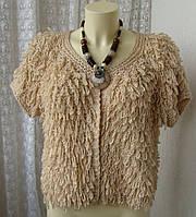Кофта женская нарядная модная теплая бренд River Island р.48-50 4376а