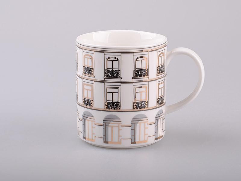 Чашка хилтон белая Lefard 350мл 761-032