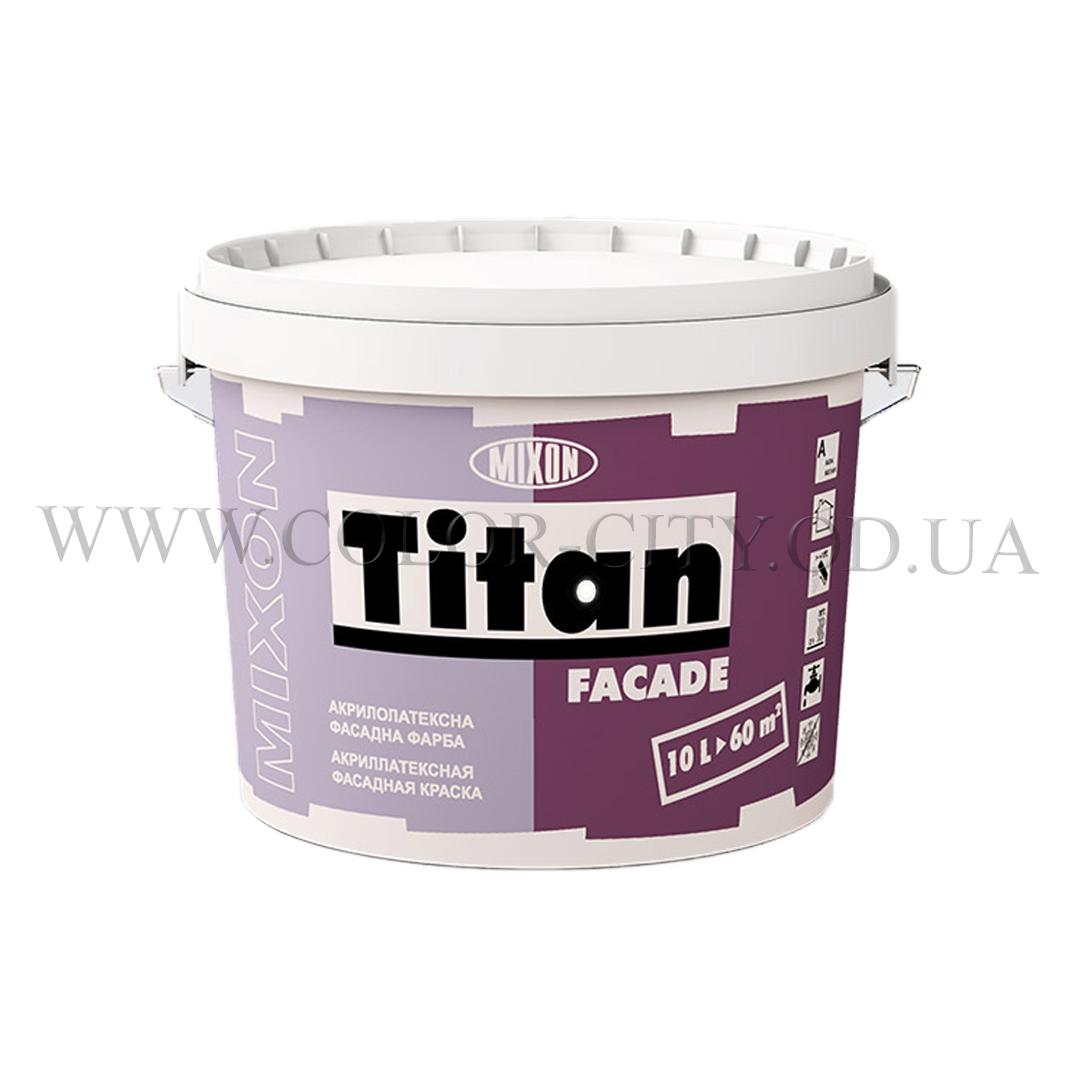 Акриловая фасадная краска Mixon Titan Fasade 1л