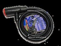 Велозамок Ø12-1000mm TY503 Tonyon с лазерным ключом, фото 1
