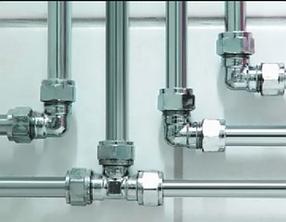Трубы, фитинги и комплектующие для систем водоснабжения и отопления
